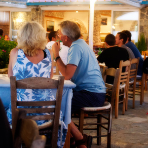 Taverna Bar Dixtia, Agios Georgios, Corfu, Greece. Photo: Uffe Steffensen ©2011